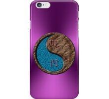 Scorpio & Rooster Yin Earth iPhone Case/Skin