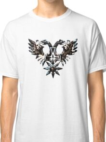 DOUBLE -HEADED WINGED BEHEMOTH - nergal metal god Classic T-Shirt