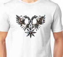 DOUBLE -HEADED WINGED BEHEMOTH - nergal metal god Unisex T-Shirt
