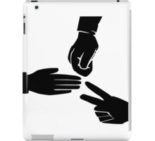 Rock Paper Scissors Game iPad Case/Skin