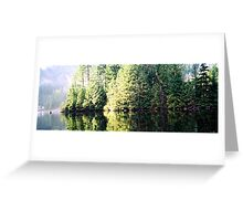 Buntzen Lake Greeting Card
