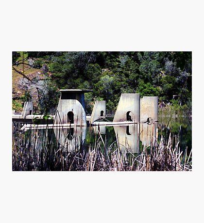 Dam Top Photographic Print