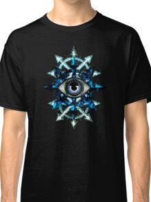 EVIL EYE WITH CHAOS STAR Classic T-Shirt