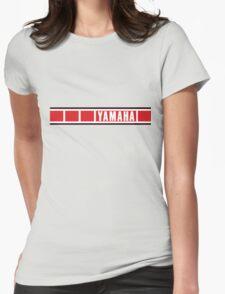 Yamaha Speedblock Womens Fitted T-Shirt
