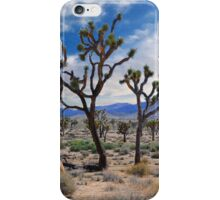 Dancing Joshua's, Joshua Tree National Park iPhone Case/Skin