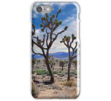 Dancing Joshua's, Joshua Tree National Park iPhone Case/Skin