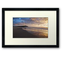 New Day at Crowdy Framed Print