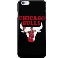 Chicago Bulls, Derrick Rose iPhone Case/Skin