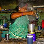 Making chai south Indian style by indiafrank