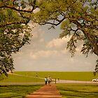 Oak Alley Plantation by Paul Vanzella