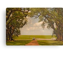 Oak Alley Plantation Metal Print