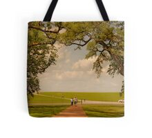 Oak Alley Plantation Tote Bag