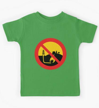 No Fracking Kids Tee