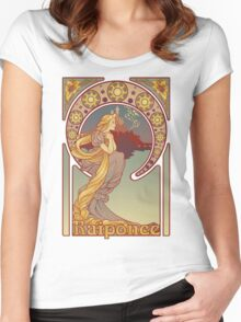 Raiponce Women's Fitted Scoop T-Shirt