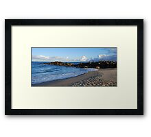 Rock Fishing Framed Print