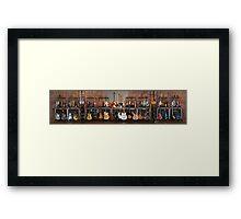 Axes!! Framed Print