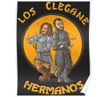 Los Clegane Hermanos Poster