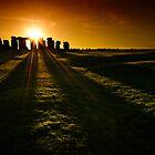 Stonehenge Sunset by Thomas Peter