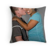 Mike and Becky  Throw Pillow