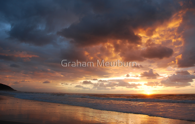 Sunrise at Crowdy Head by Graham Mewburn