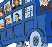 Magic Who Bus Sticker