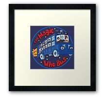 Magic Who Bus Framed Print