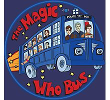 Magic Who Bus Photographic Print