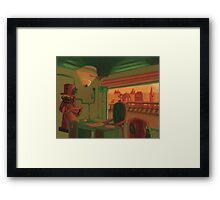 Everlasting Sundown Framed Print