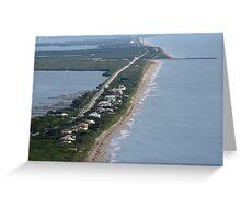 A1A Views (North) Greeting Card