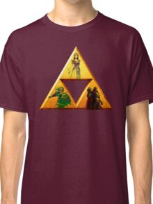 Triforce - The Legend Of Zelda Classic T-Shirt
