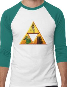 Triforce - The Legend Of Zelda Men's Baseball ¾ T-Shirt