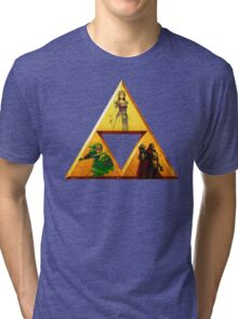 Triforce - The Legend Of Zelda Tri-blend T-Shirt