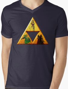 Triforce - The Legend Of Zelda Mens V-Neck T-Shirt