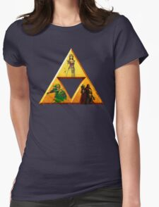 Triforce - The Legend Of Zelda Womens Fitted T-Shirt