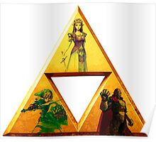 Triforce - The Legend Of Zelda Poster