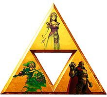 Triforce - The Legend Of Zelda Photographic Print