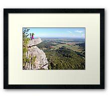 Vincent's Lookout Framed Print