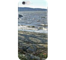 Waves on the Hudson River, West Chester County, NY iPhone Case/Skin