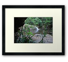 Waitui Falls Framed Print