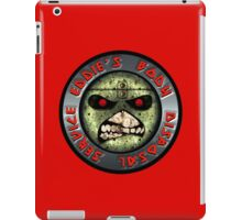 ZOMBIE EDDIE'S BODY REMOVAL SERVICE - COLOR iPad Case/Skin