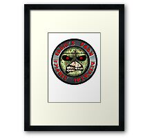 ZOMBIE EDDIE'S BODY REMOVAL SERVICE - COLOR Framed Print