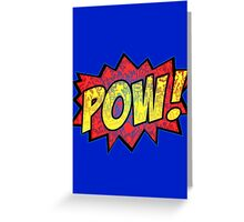 A Tribute to Comic Lovers All over the world! Greeting Card