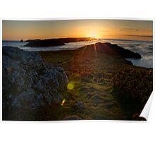 Pembrokeshire Sunset Poster