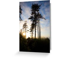 Standing Fourth Greeting Card
