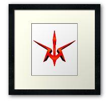 Black Knight's Emblem Framed Print