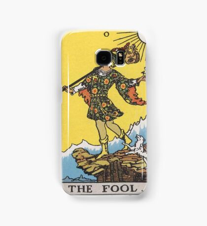 Tarot card - The Fool Samsung Galaxy Case/Skin