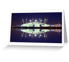 02 Arena London England Greeting Card