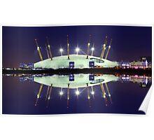 02 Arena London England Poster