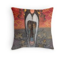 Mask 4 Throw Pillow