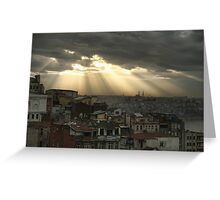 Istanbul a moment in time Greeting Card